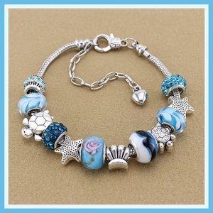 Jewelry - Bracelet blue silver new